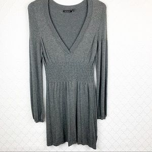 The Limited Grey Sweater Dress Small